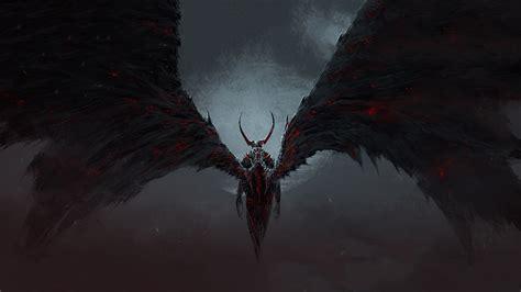 wallpaper dark devil angel and devil wallpaper 61 images