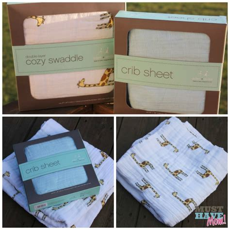 swaddle baby in crib must haves for baby event aden anais cozy swaddle