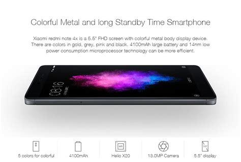 Redmi Note 4x Gold Ram 4 64 Gb Garansi 1 Tahun xiaomi redmi note 4x 5 5 inch 4g ram 64gb rom smartphone