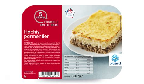plats cuisin駸 surgel駸 hachis parmentier surgel 233 s les plats cuisin 233 s picard