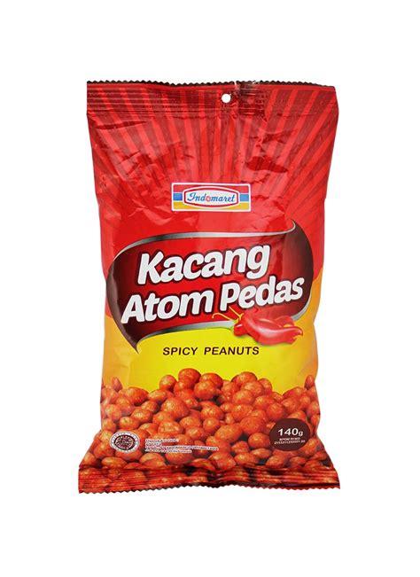 indomaret snack kacang atom pedas pck  klikindomaret