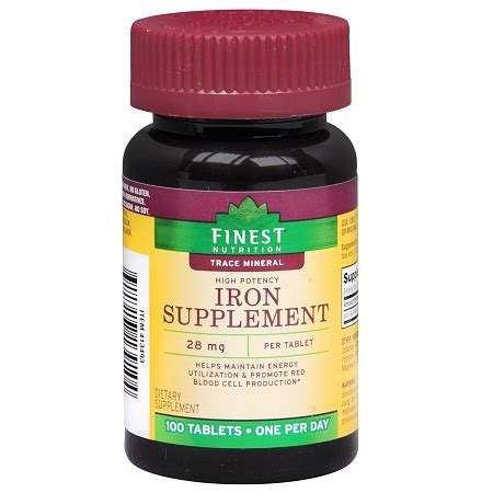 supplement with iron iron supplements