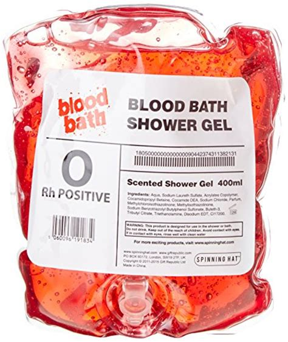 Blood Bath Shower Gel blood bath shower gel