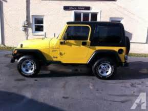 2002 Jeep Wrangler For Sale 2002 Jeep Wrangler Sport For Sale In Berea Kentucky