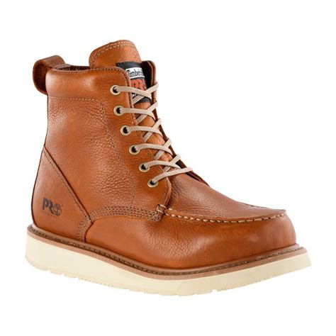 timberland pro boots for timberland pro s 6 quot wedge leather boots soft toe