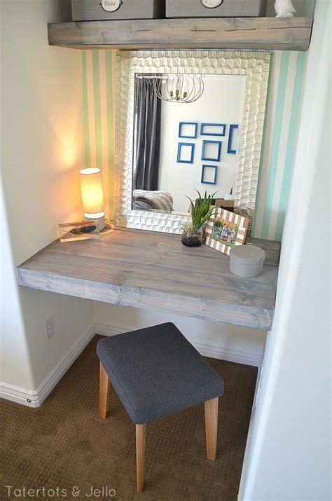 Cheap Vanity Bench Diy Floating Desk And Shelves For A Bedroom