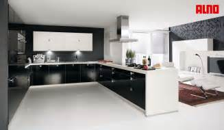 U Shaped Kitchen Layout With Island Types Of Kitchens Alno