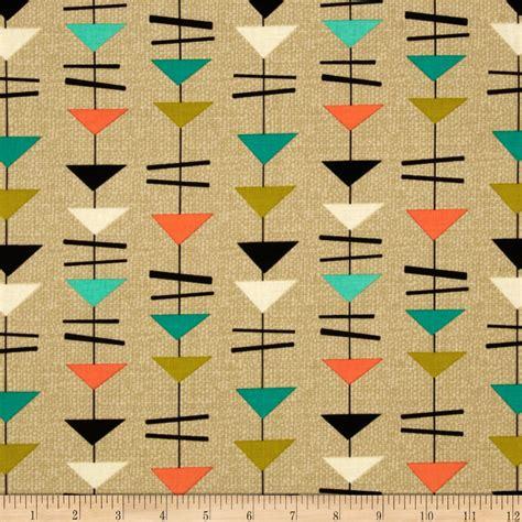 Modern Pattern Quilted Fabric | michael miller mid century modern discount designer
