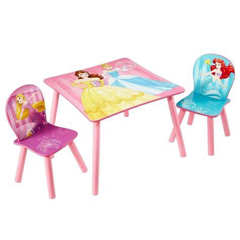 table princesse disney table chairs princess disney bainba
