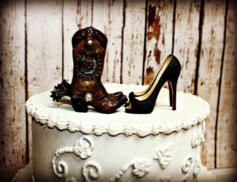 unique western cake toppers for wedding cakes with western