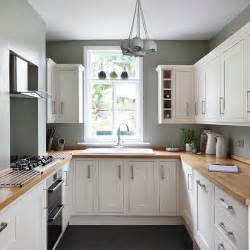 White And Sage Green Kitchen Small Kitchen Design Ideas