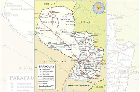 imagenes satelitales paraguay mapas de paraguay se encuentran desactualizados hace 40