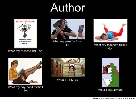Author Meme - author meme generator what i do