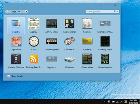 install windows 10 gadgets how to add desktop gadgets in windows 10