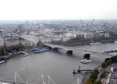 file westminster bridge river thames london england jpg file waterloo bridge river thames london england nov04