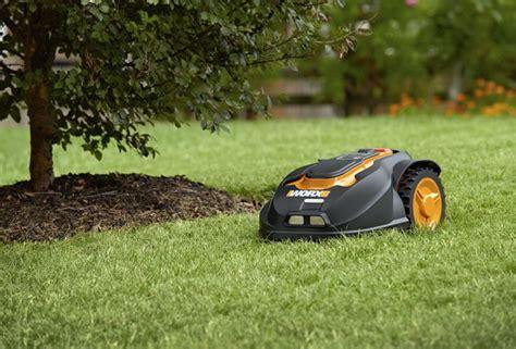 lawn care gadgets worx landroid robotic lawn mower web magazine about best