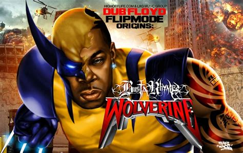 Kaos I My Hip Hop flipmode origins busta rhymes as wolverine by miami