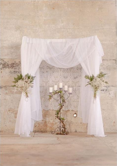 Cheap Wedding Backdrop Kits by 1000 Ideas About Curtain Backdrop Wedding On