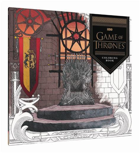 bantam of thrones colouring book of thrones coloring book atomic empire
