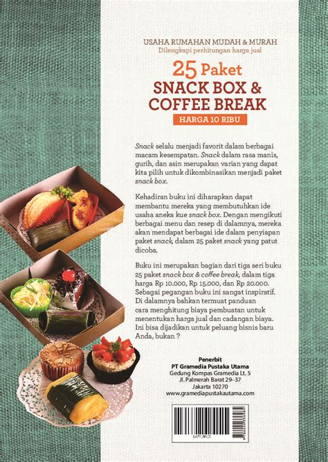 25 Paket Snack Box Coffee Harga 20 Ribu 25 paket snack box coffee harga 10 ribu book by