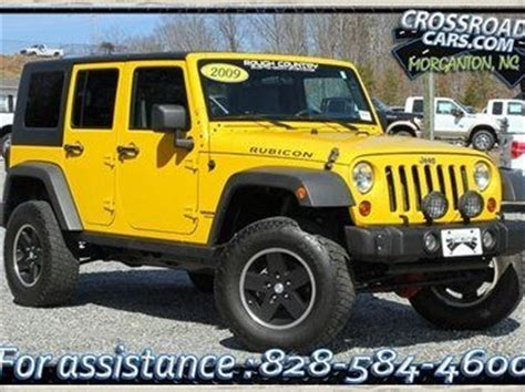 Best Tires For Jeep Wrangler Unlimited Buy Used 2009 Jeep Wrangler Rubicon Unlimited 4x4