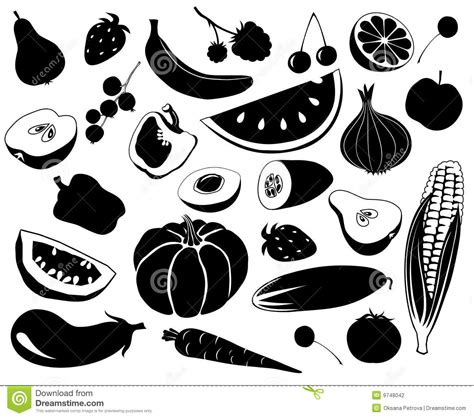 Bamboo Kitchen Design Fruit An Vegetables Stock Photography Image 9748042
