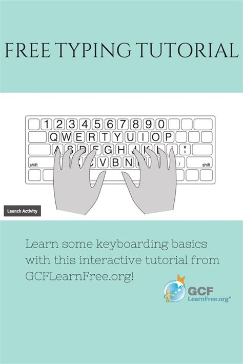 Tutorial For Keyboard Typing | 17 best images about computer and internet basics for
