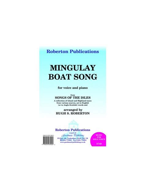 mingulay boat song lyrics sheet music mingulay boat song from song of the isles