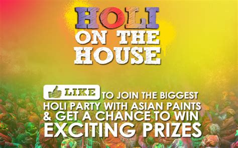 House Decor App social media campaign review asian paints holi on the house