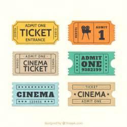 ticket cine fotos y vectores gratis