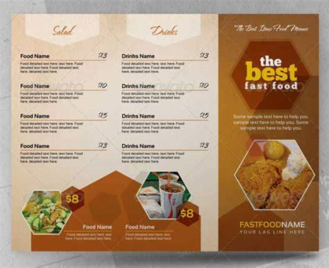 menu template indesign creative indesign food menues 2pages food menu