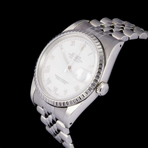 Rolex Oyster Perpetual datejust, bracelet montre d'homme en acier   2015021201   Expertissim