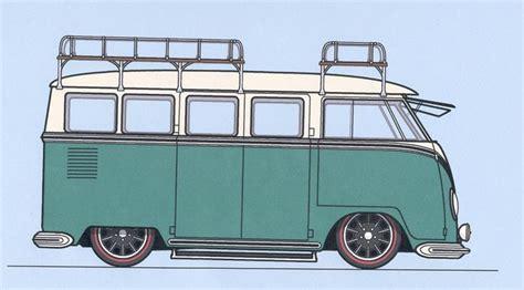 volkswagen van drawing vw bus cartoon pictures vw kombi drawing next vehicle