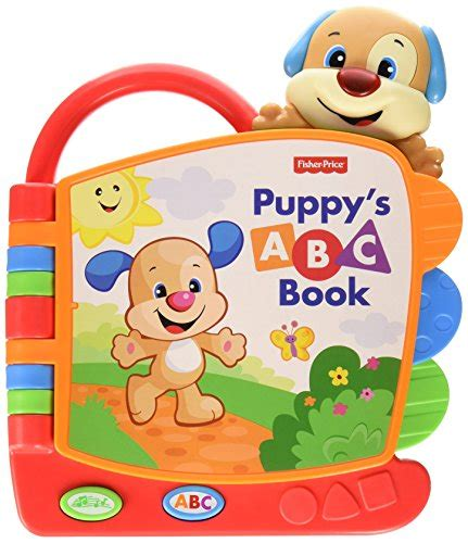 pup colors pup to learn books fisher price laugh and learn puppy s abc book multi color