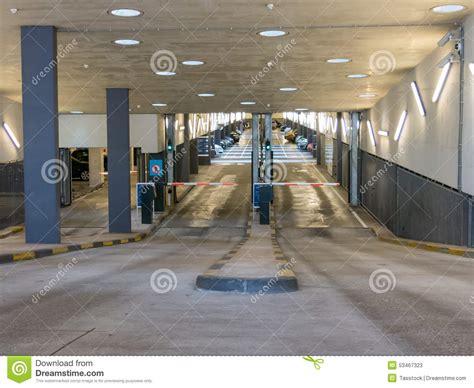 Parking Garage Near World Trade Center parking garage entrance editorial stock photo image of