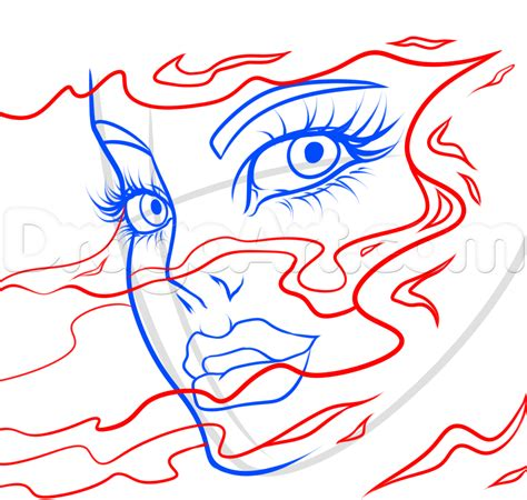 abstract line art tutorial abstract face drawing lesson step by step faces people