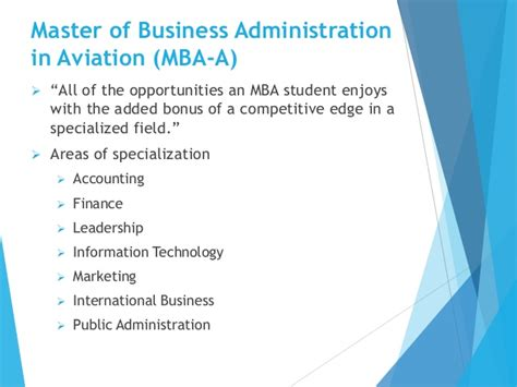 Mba Finance In Airlines by Erau Degree Briefing Bs Technical Management And Mba In