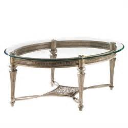 Glass Coffee Table Set Magnussen Galloway 2 Oval Glass Top Cocktail And End Table Set 37526 37504 Pkg