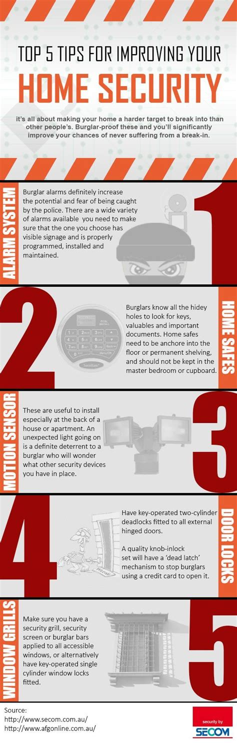 best 25 security tips ideas on safe home