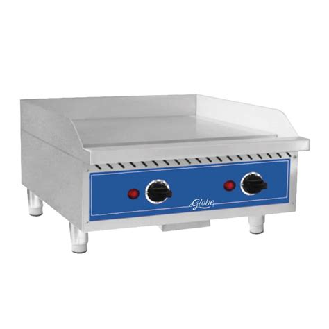 Countertop Griddles by Globe Geg24 24 Quot Electric Countertop Griddle 5600w