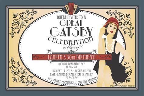 Sle Wedding Invitation Log by Roaring 1920 S Flapper Great Gatsby Printable