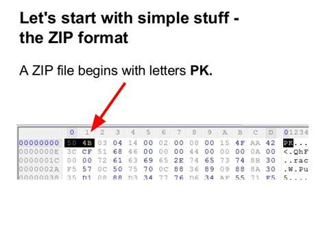 format zip ange albertini and gynvael coldwind schizophrenic files