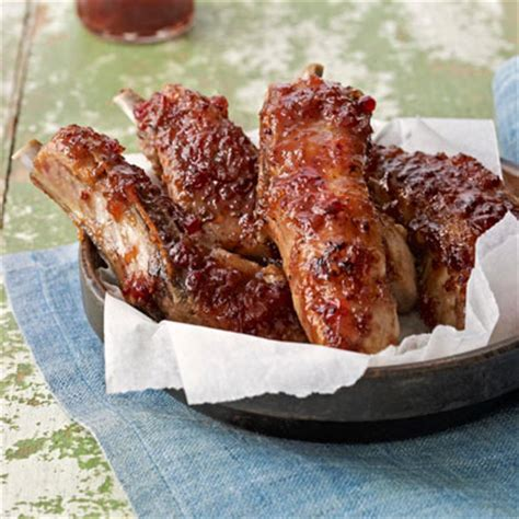 tender country style pork ribs glazed country ribs recipe