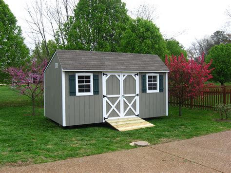Overholt Sheds by Avocado Paint Is A Relaxing Feature For Storage Sheds In