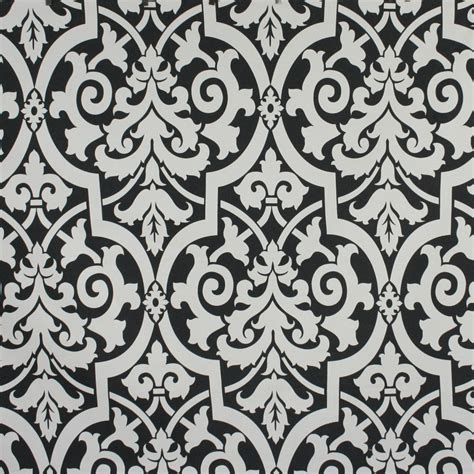 home decor fabric cottage camila black