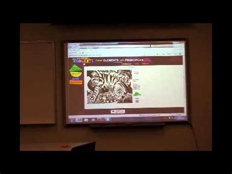 design elements and principles youtube smart board lesson the elements and principles of design