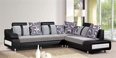 Sofa Minimalis New Design by Free Modern Living Room Black Leather Sofa Design Corner