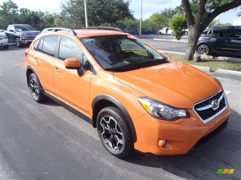 Subaru Orange by 2014 Tangerine Orange Pearl Subaru Xv Crosstrek 2 0i