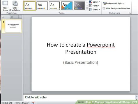 powerpoint tutorial 1 creating a presentation how to make a beautiful and efficient ppt 10 steps