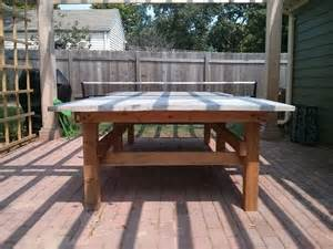 how to build a concrete ping pong table thewellexamined
